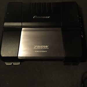 ^** PIONEER CAR AMPLIFIER 2/1 CHANNEL AMP