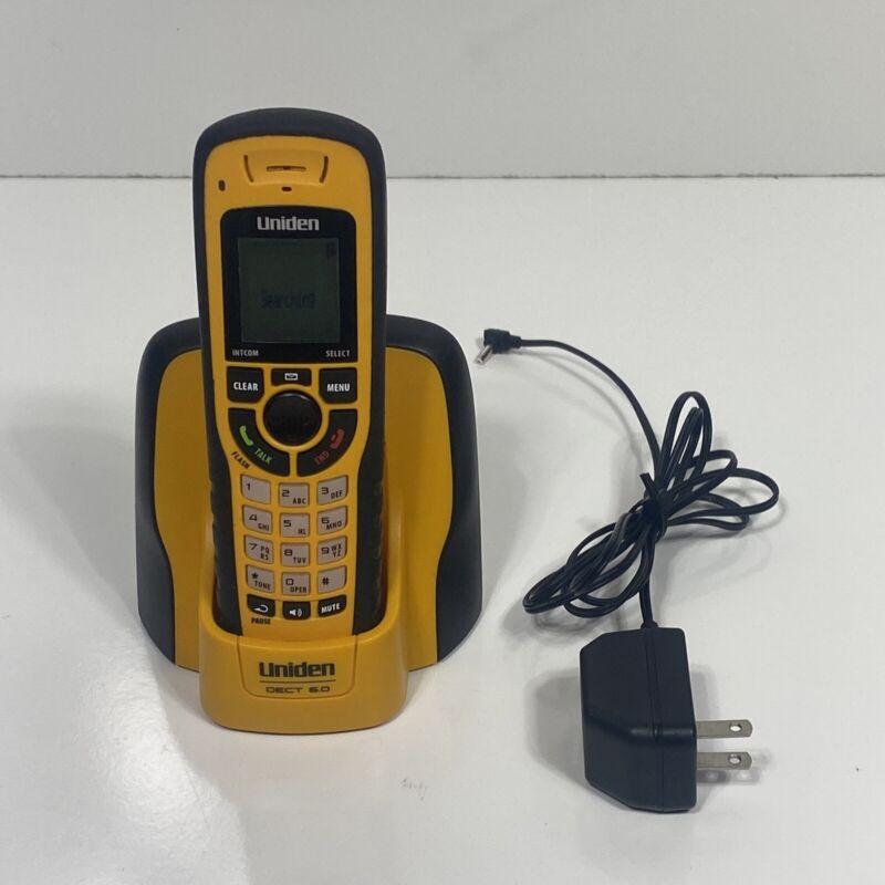 UNIDEN DECT 6.0 DWX337 Submersible Waterproof Phone & WXI3077 Base