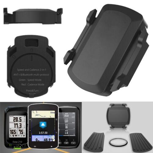 Bluetooth Wireless Speed Cadence Sensor For Garmin Bryton Bike GPS Cycling ANT