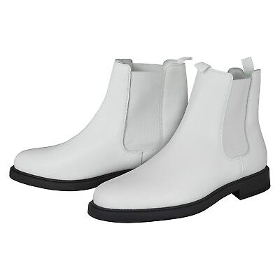 White Real Leather Ankle Boots - for a Stormtrooper Costume - from UK](Real Stormtrooper Costume)