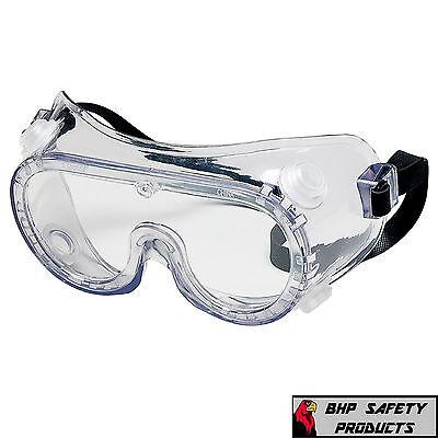Chemical Splash Goggles - MCR CREWS LAB SAFETY GOGGLES 2230R VENTED CHEMISTRY CHEMICAL SPLASH (1 PAIR)