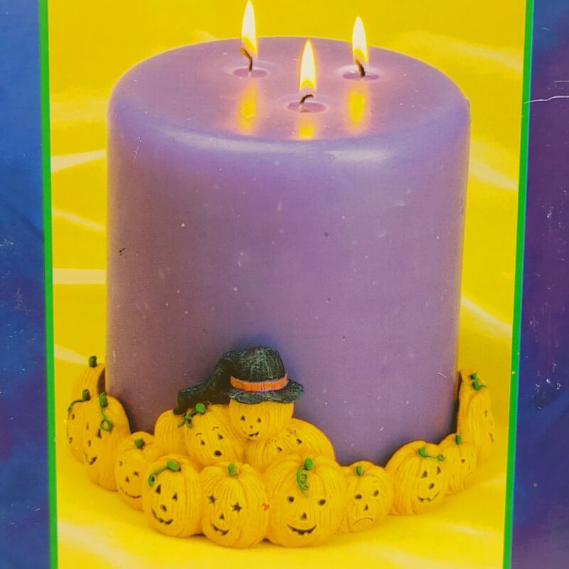 """Bookins Collection, 6"""" Candle Ring. Elaine Thompson. Halloween. #77005"""