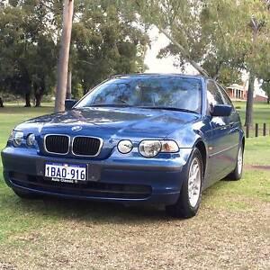 2002 BMW 316TI E46/5 Steptronic BLUE 5 Speed Automatic Hatchback East Victoria Park Victoria Park Area Preview
