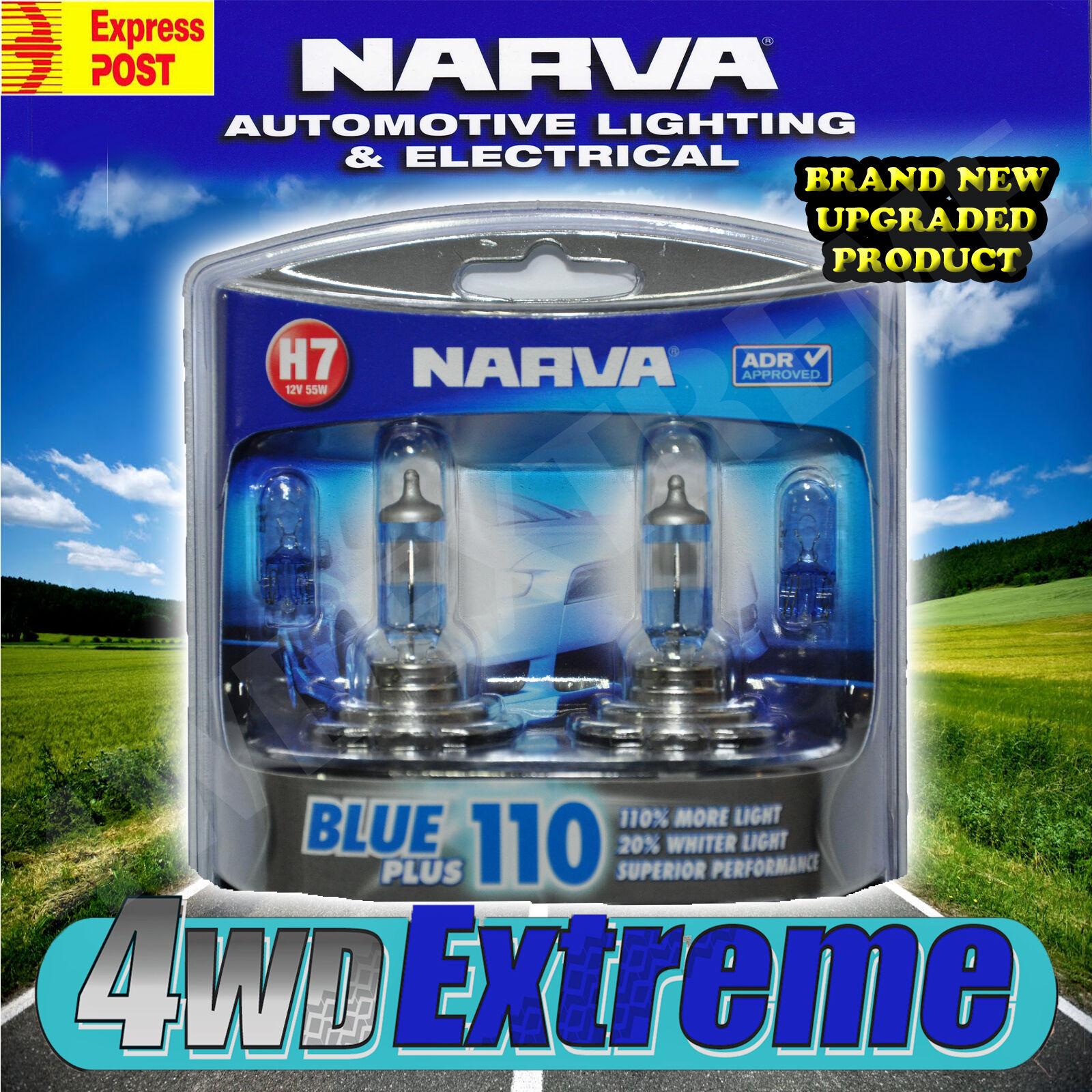 Narva H7 Blue 110 Plus 110 90 Halogen Headlamp Light