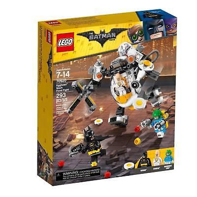LEGO Batman Movie Egghead & Mech Food Fight 70920 NEW Sealed