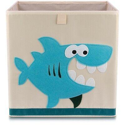 Kinder Aufbewahrungsbox Spielkiste Spielzeugbox Korb Aufbewahrung Hai (Spiel Hai Spiele)