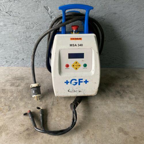 Georg Fischer MSA 340 Electrofusion Unit GF+ Central