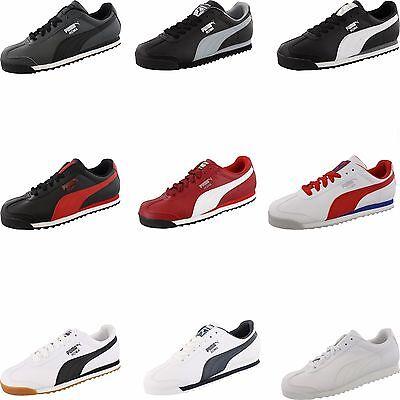 Mens Puma Roma Basic  Classic Retro Shoes
