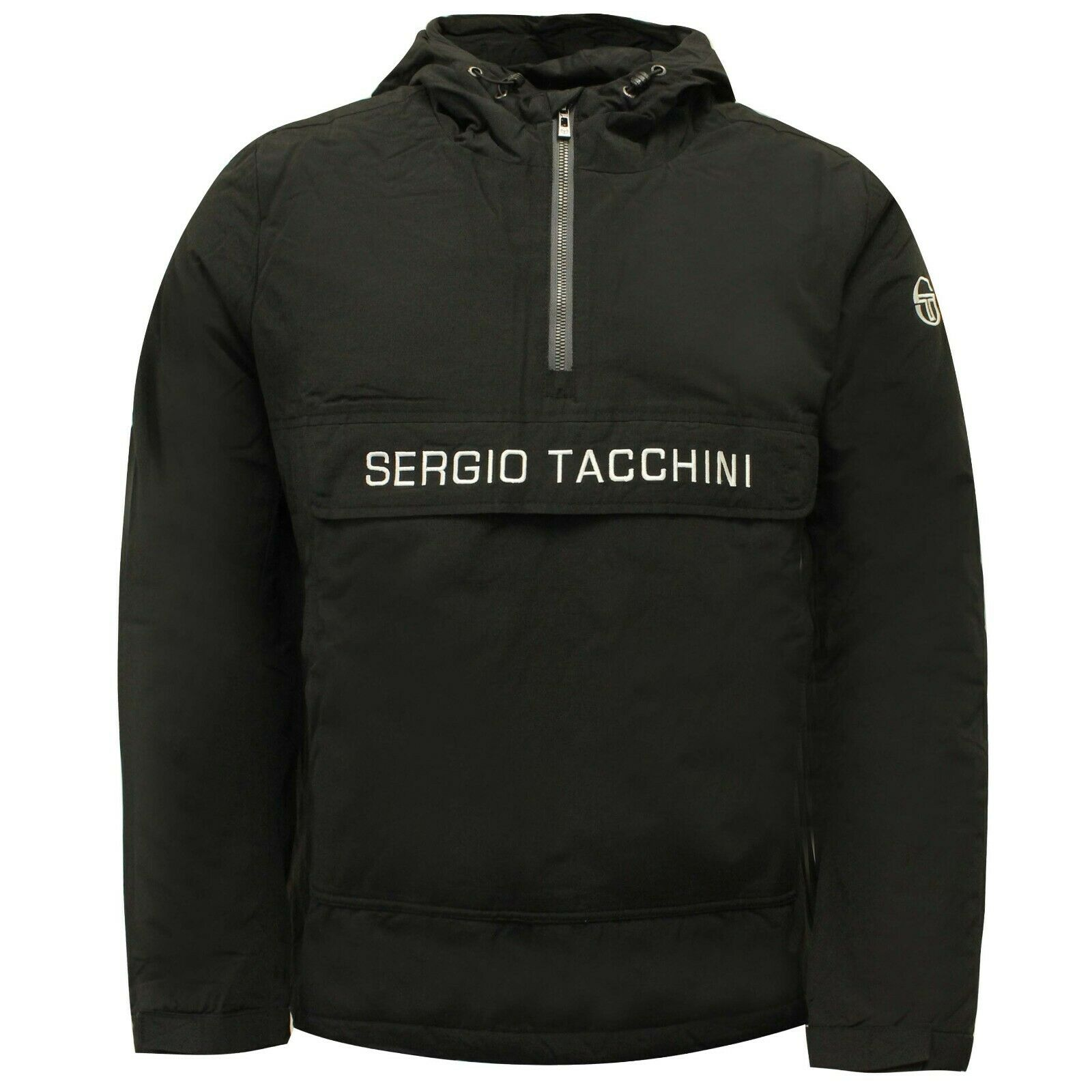 Bnwt-Sergio Tacchini T-Shirt Bleu marine-petit