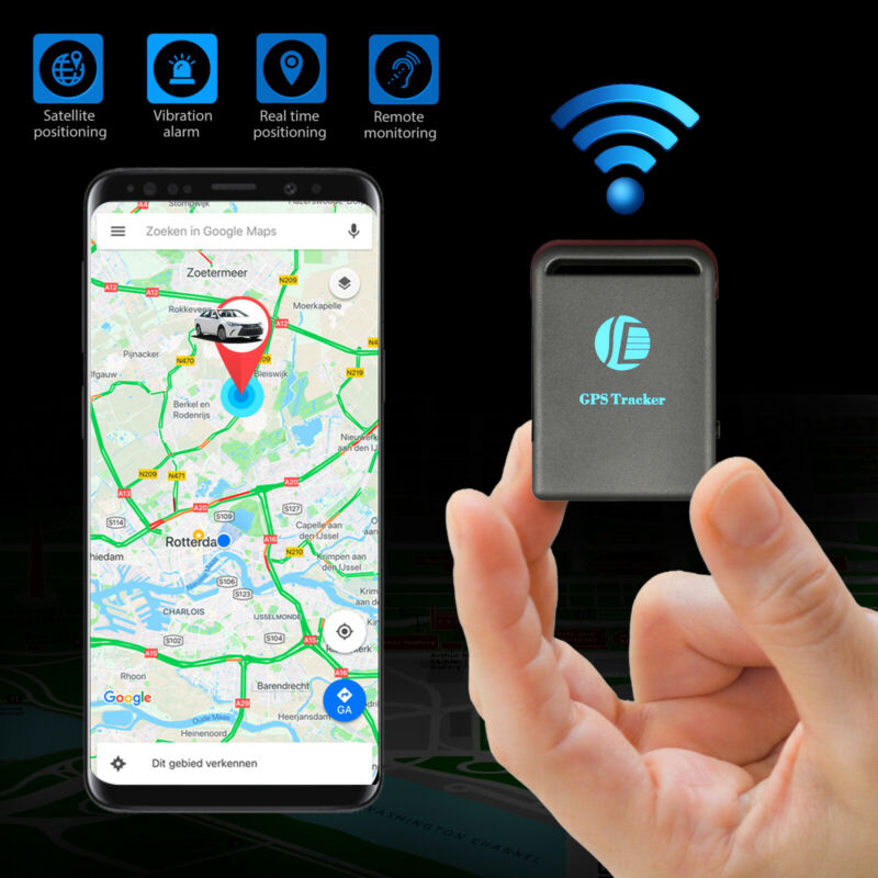 Magnetic GPS Tracker Real time Vehicles kids Hidden Car Tracking device GSM GPRS
