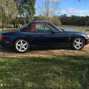 1998 Mazda MX-5 Coupe Woodend Macedon Ranges Preview