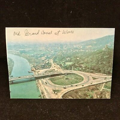 Vintage Post Card The Grand Canal Today Wuxi China