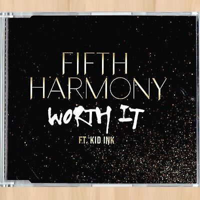 Fifth Harmony Worth It  Feat  Kid Ink  2 Track Cd Single With Non Rap Version