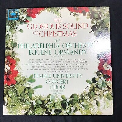 The Glorious Sound Of Christmas The Philadelphia Orchestra & Eugene Ormandy VG+ ()
