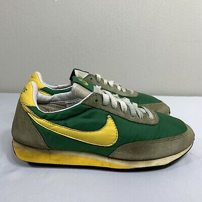 2007 Nike Daybreak Vintage Waffle Men's 6.5 Green Yellow Running Trainer Oregon