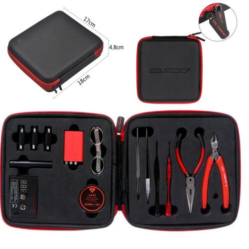 Coil Diy V2 Kit Master Tool Set Coil Jig Ohm Meter Cerami...