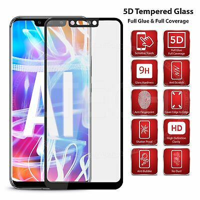 Best Full Screen Edge 5D Glass Screen Protector [Black] for Google Pixel