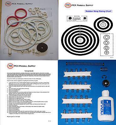 1971 Gottlieb Sheriff Pinball Machine Tune-up Kit