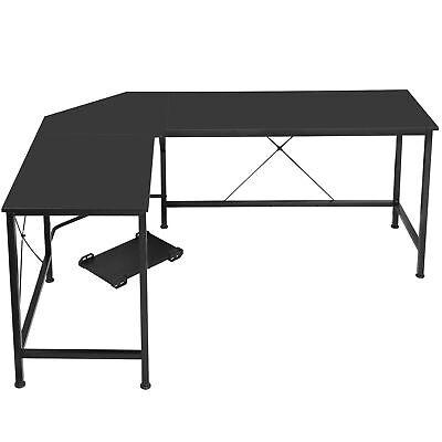 Desk Corner Computer Modern L-shaped Desk Pc Laptop Study Table Workstation 66