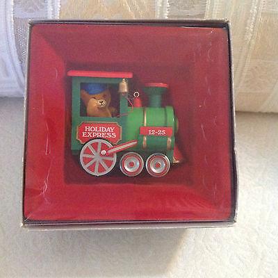 Enesco Christmas ornament Wide Open Throttle in box