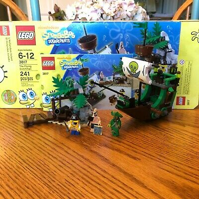 LEGO Spongebob Set 3817: The Flying Dutchman 100% Complete w/ Box & Instructions