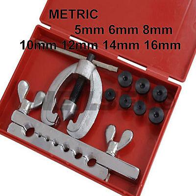 Neilsen On Car Brake Pipe Flaring Kit Metric 5,6,8,10,12,14 &16mm Car Van 7a