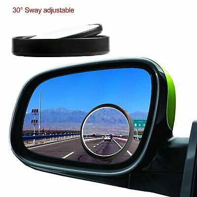 2pcs 360° Wide Angle Convex Rear Side View Blind Spot Mirror Car Auto Universal Car & Truck Parts