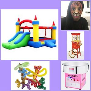 BOUNCY CASTLES, FACE PAINTING & MORE ($10 Off All SERVICES)