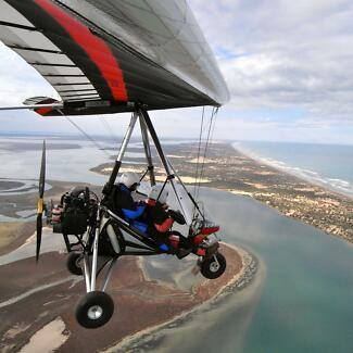 Microlight Flying Sellicks Beach Morphett Vale Area Preview