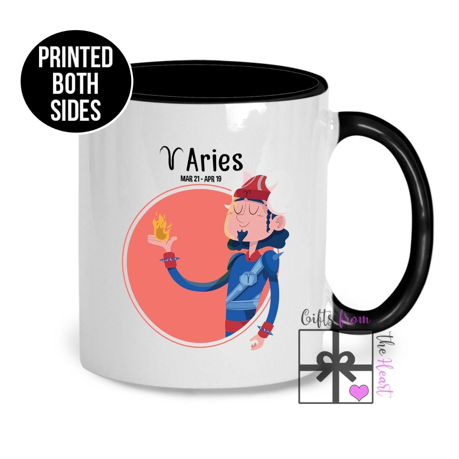 Aries Mug - Personalised Zodiac Star Sign Coffee Cup ...