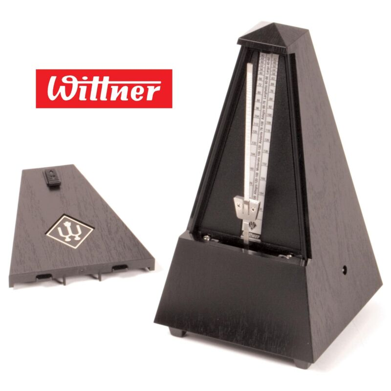 Wittner Traditional Black Plastic Metronome - AUTHORIZED DEALER & FAST SHIPPING!