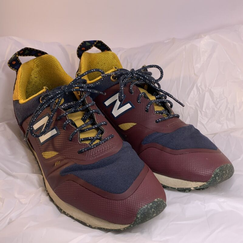 NEW BALANCE MEN'S TRAILBUSTER RE-ENGINEERED HIKING SNEAKERS SHOES SIZE 10.5