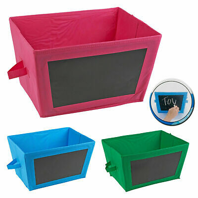 Foldable Collapsible Canvas Fabric Storage Shelf Organiser Bedroom Drawer Box