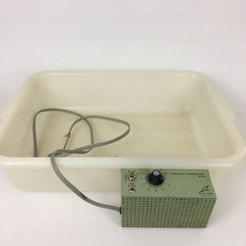 Photo Therm Tray Heater Temperature Control Darkroom Water Bath