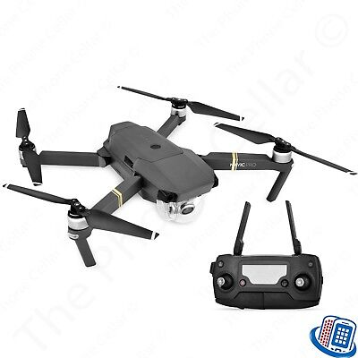 DJI Mavic Pro Folding Drone Quadcopter 4K Stabilized Camera GPS Car Charger