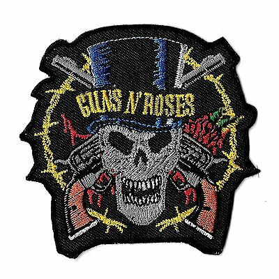 """New Guns N' Roses' Top hat' 3 X 3"""" Inch Iron on Patch Free Shipping"""
