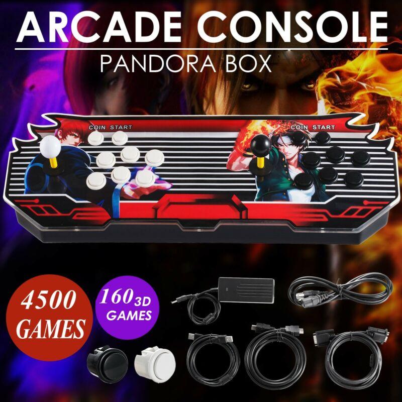 Pandora Box 4500 3D & 2D Games in 1 Home Arcade Console 1080P HDMI USA NEW