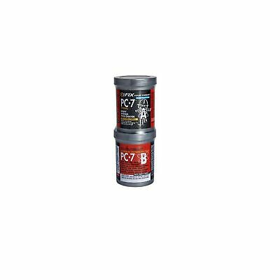 Pc-7 Heavy Duty Multipurpose Epoxy Adhesive Paste Repair 1lb 2part Charcoal Gray