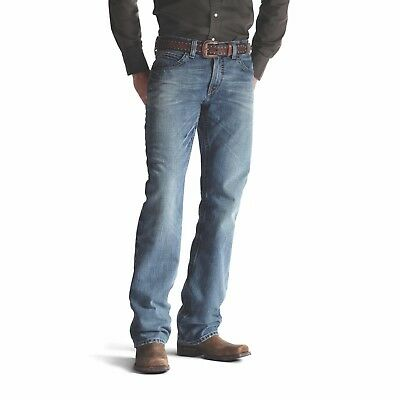 Ariat® Men's M4 Low Rise Relaxed Fit Scoundrel Boot Cut Jeans 10008403 ()
