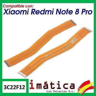 FLEX PRINCIPAL PARA XIAOMI REDMI NOTE 8 PRO ALARGADOR CABLE LCD CONECTOR...