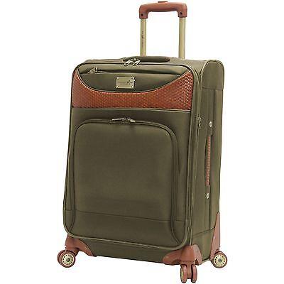 NEW Caribbean Joe Luggage 24 Inch 8 Wheel Spinner  24 Inch Spinner Wheel