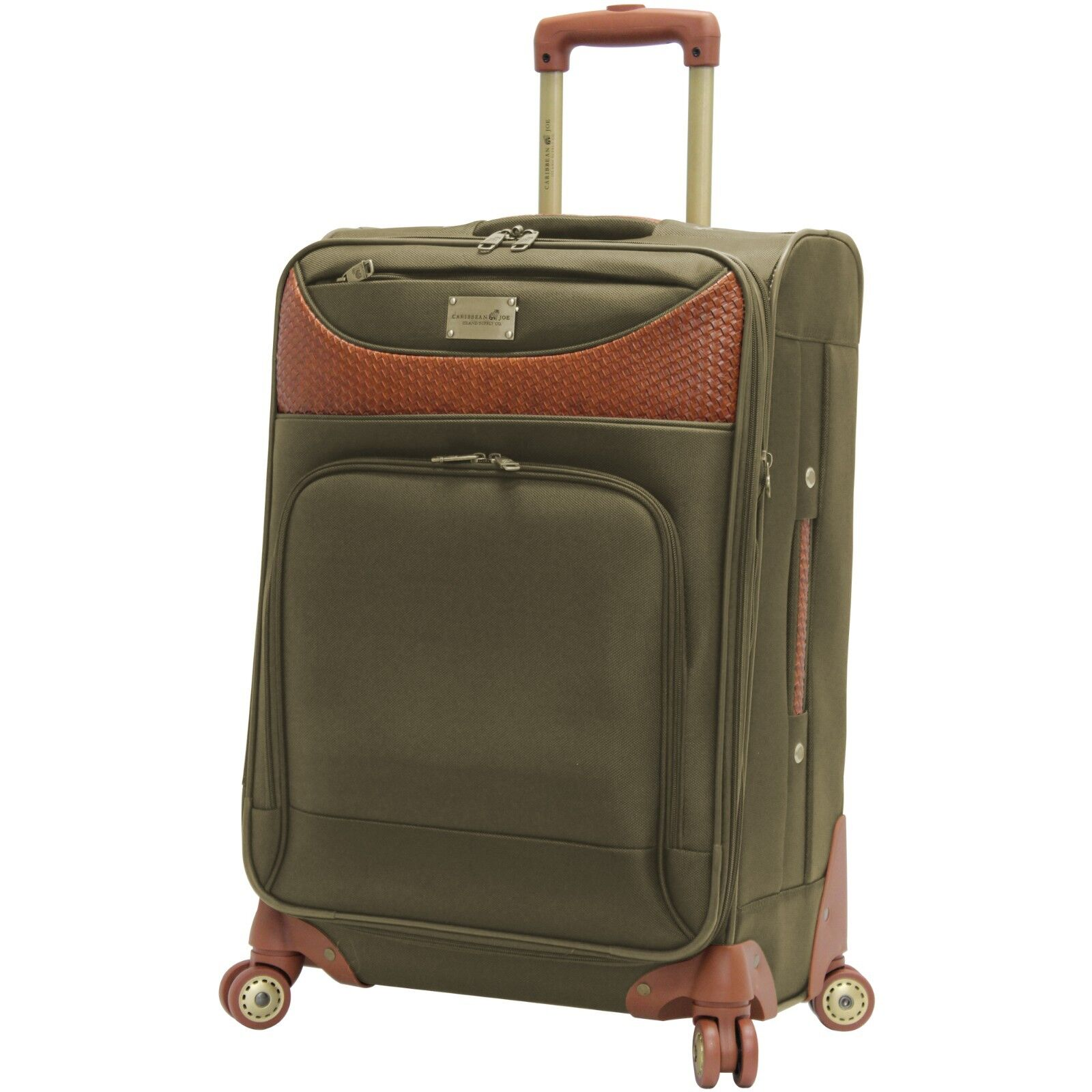 NEW Caribbean Joe Luggage 24 Inch 8 Wheel Spinner