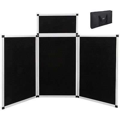 6 31 Blackwhite Panel Header Trade Show Display Presentation Tabletop Loop