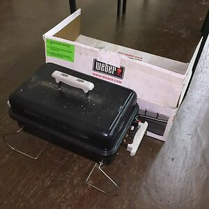 Weber portable BBQ - lightly used
