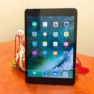 As new iPad mini 3 with touch ID space grey 64G with cellular Calamvale Brisbane South West Preview