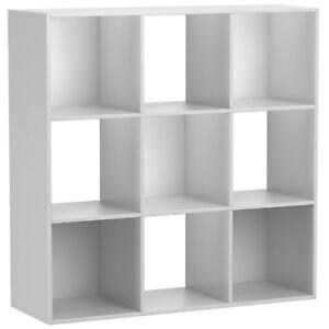 9 Cube Organizer Storage Shelf Rack Cabinet Closet Shelves Living Room Furniture