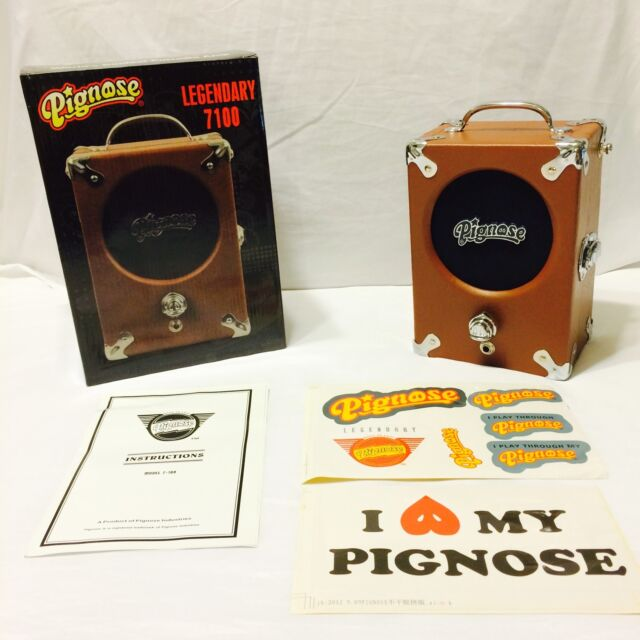 NEW Pignose 7-100 Guitar Portable Amplifier Amp, Battery Powered