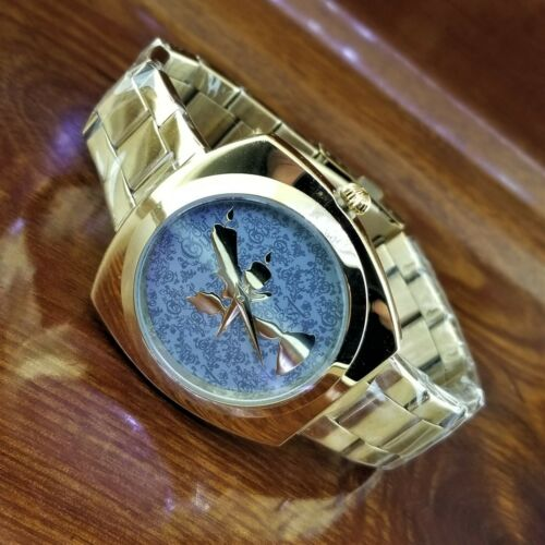 New DISNEY STORE Exclusive Gold Be Our Guest Beauty & The Beast LUMIERE Watch