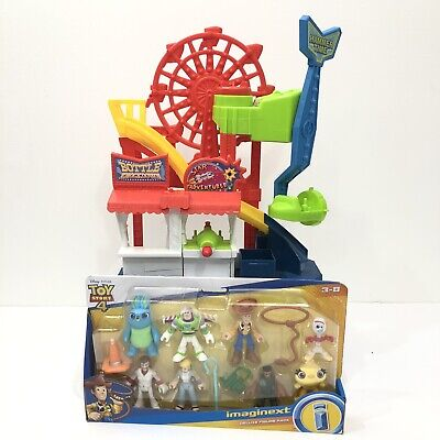 Fisher Price Imaginext Toy Story 4 CARNIVAL Playset with Deluxe Figure Pack