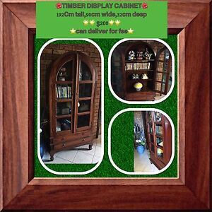 SOLID TIMBER CABINET $200 Tenambit Maitland Area Preview